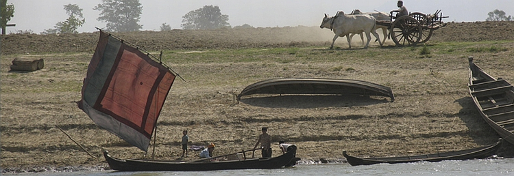 Banks of the Irrawaddy - photo by Dean Harden