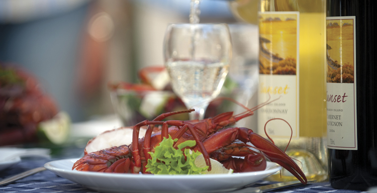 Kangaroo Island's Justly-famous southern-ocean cold-water lobster